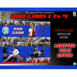 Bad Lads 123 And 4 SPECIAL OFFER