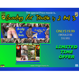 Scouting For Trouble 1 2 & 3 SPECIAL OFFER